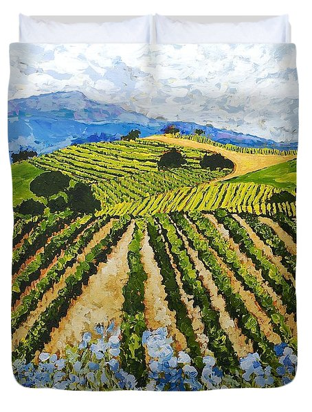 Early Crop Duvet Cover