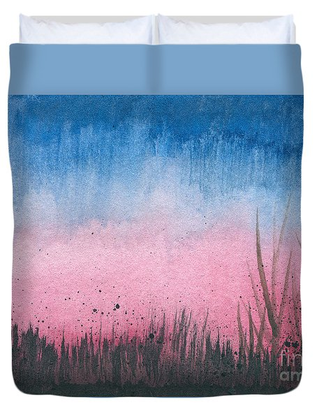 Early Dawn Duvet Cover