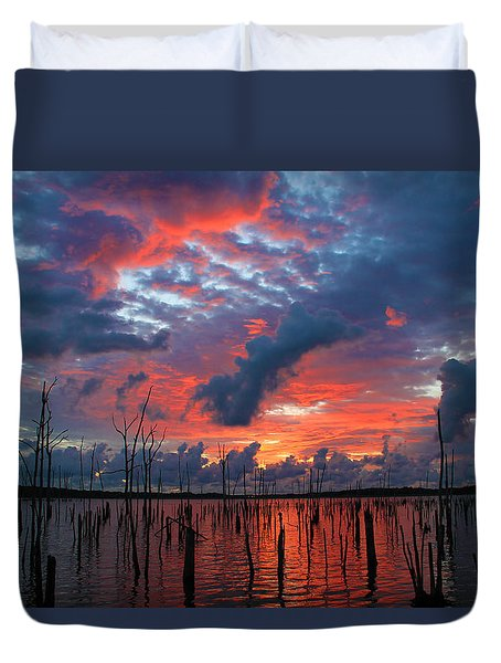 Early Dawns Light Duvet Cover