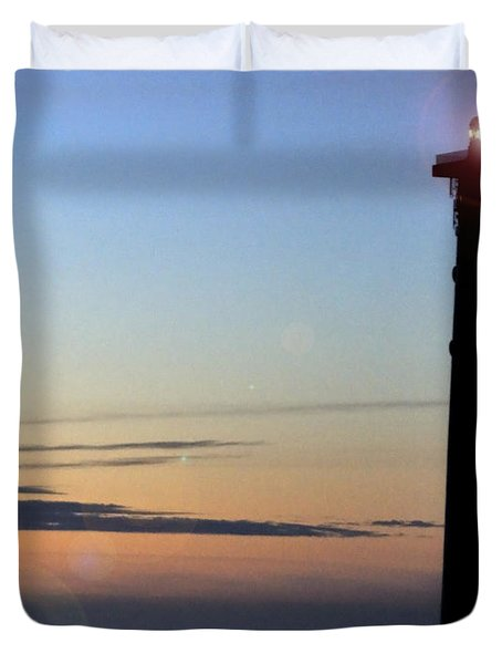 Duvet Cover featuring the photograph Early In The Morning by Julis Simo
