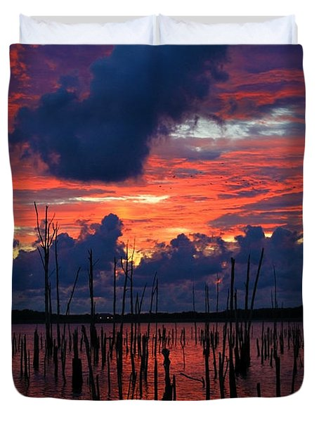 Early Light Duvet Cover by Roger Becker