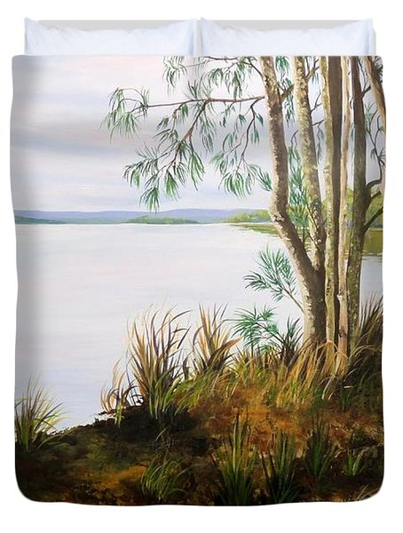 Early Light St Georges Basin Duvet Cover