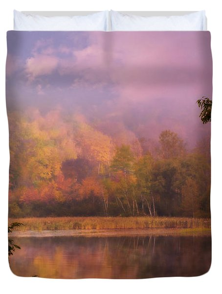 Early Morning Beauty Duvet Cover