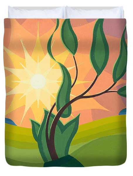 Early Morning Duvet Cover by Emil Parrag