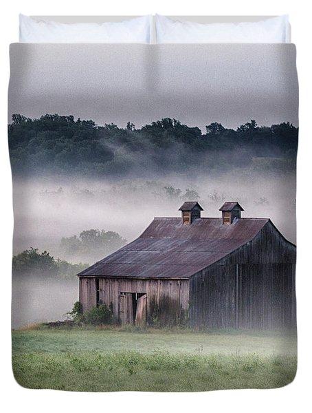 Early Morning In The Mist Standard Duvet Cover