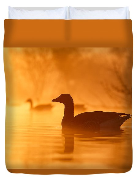 Early Morning Mood Duvet Cover