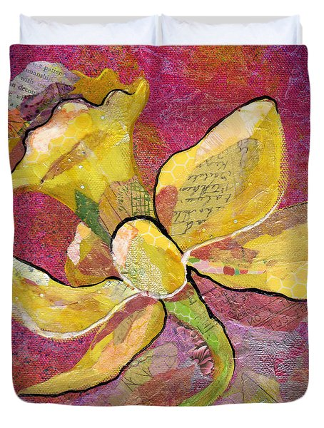 Early Spring Iv Daffodil Series Duvet Cover
