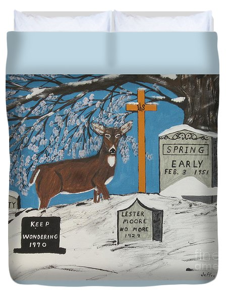 Early Spring Duvet Cover by Jeffrey Koss