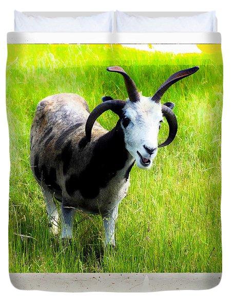 Ears And Horns Duvet Cover