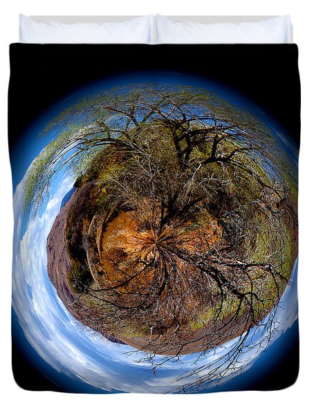 Earth Art New Mexico Duvet Cover