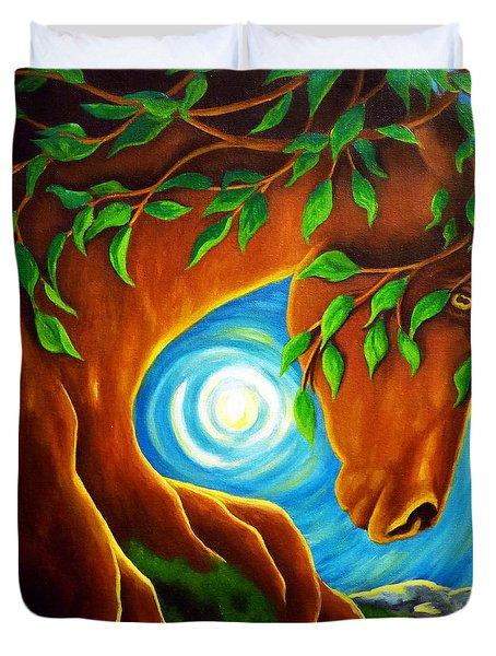 Earth Elder Duvet Cover