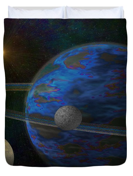 Earth-like Duvet Cover