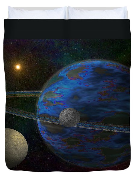 Earth-like Duvet Cover