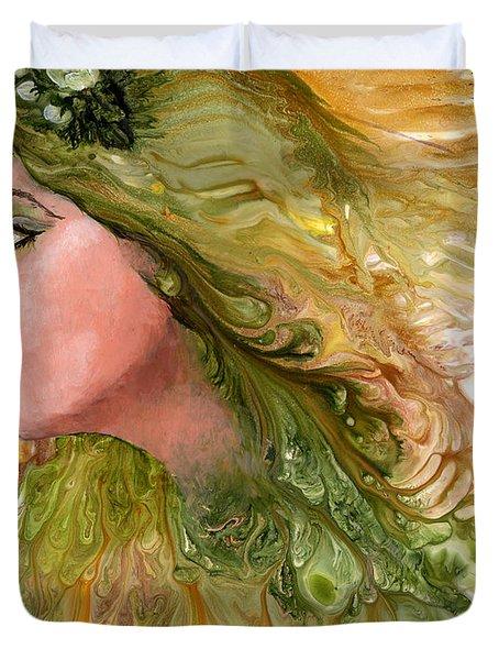 Earth Maiden Duvet Cover