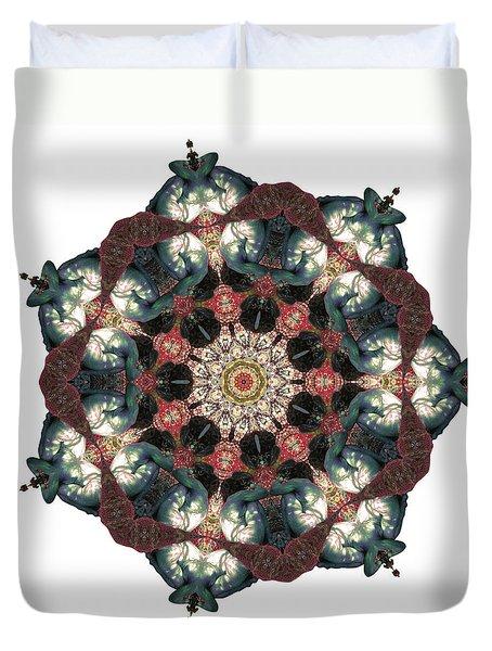 Earth Nest Duvet Cover by Lisa Lipsett