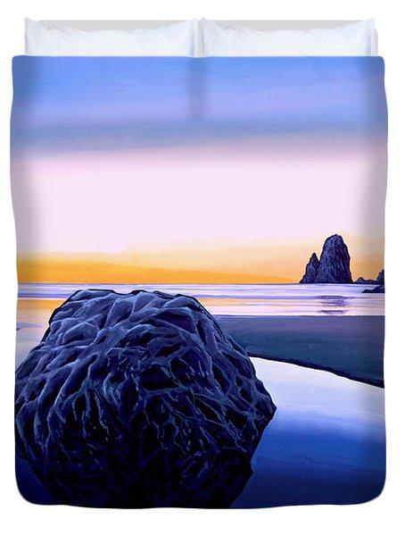 Earth Sunrise Duvet Cover