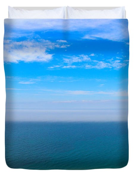 Earth Wind And Water Duvet Cover by Rachel Cohen