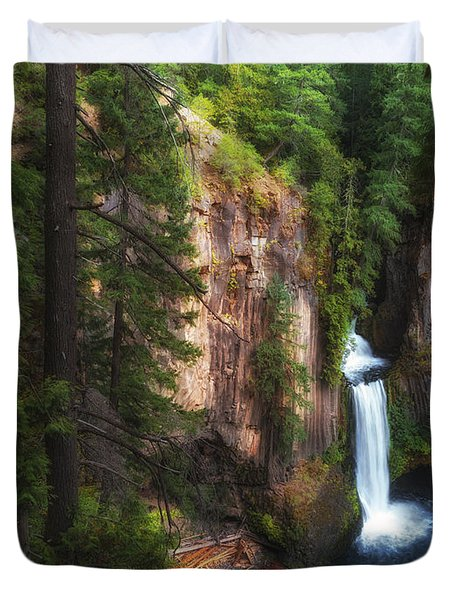 Earthen Tears Duvet Cover by James Heckt