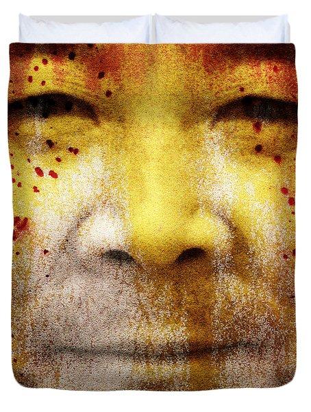Earthkeeper Duvet Cover by Brett Pfister