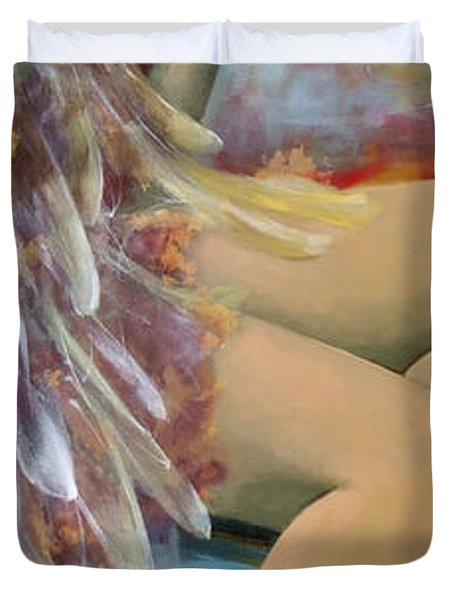 Earthly Feelings Duvet Cover by Dorina  Costras