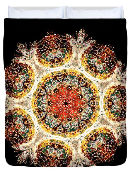 Earthmind II Duvet Cover by Lisa Lipsett