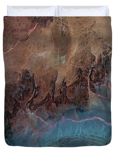 Earthship 1 Duvet Cover