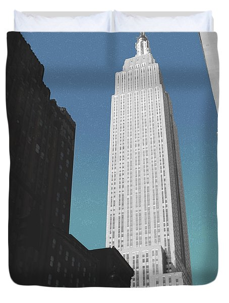East 34th Street Duvet Cover
