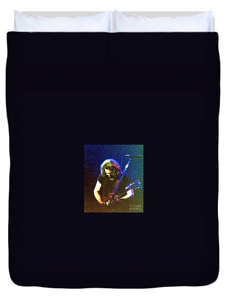 Grateful Dead - East Coast Tour - Jerry Garcia Duvet Cover
