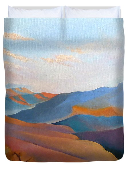 East Fall Blue Ridge No.3 Duvet Cover