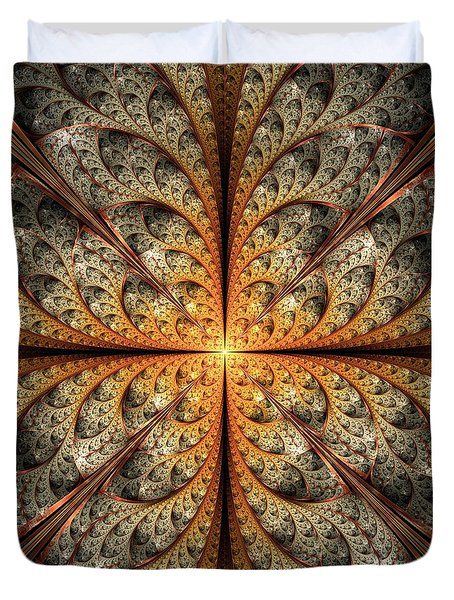 East Gates Duvet Cover by Anastasiya Malakhova