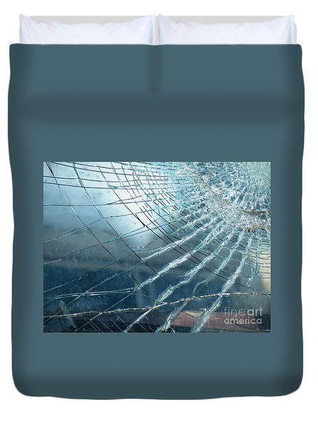 Duvet Cover featuring the photograph East Of Java by Brian Boyle