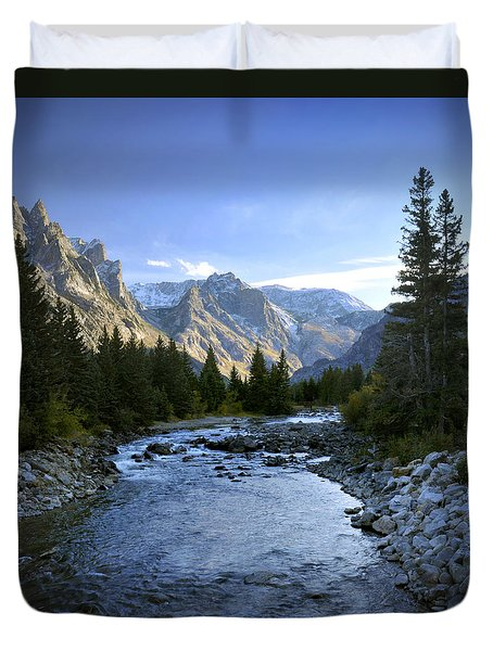 East Rosebud Canyon 8 Duvet Cover