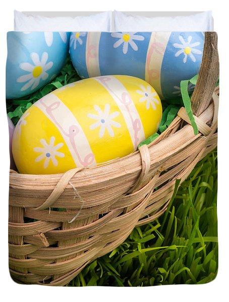 Easter Basket Duvet Cover by Edward Fielding