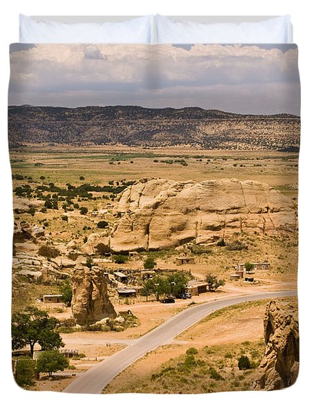 Eastern Mesa View Duvet Cover