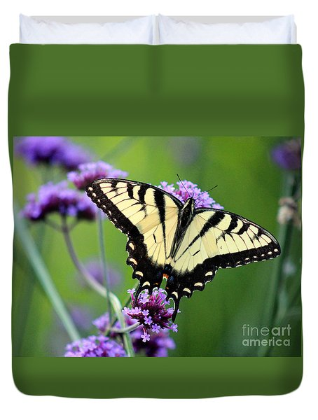 Eastern Tiger Swallowtail Butterfly 2014 Duvet Cover