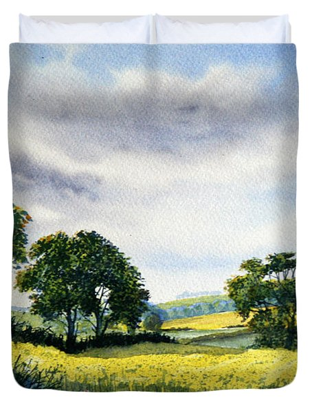 Eastfields From Woldgate Duvet Cover