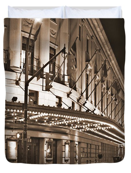 Eastman Theater Duvet Cover by Richard Engelbrecht