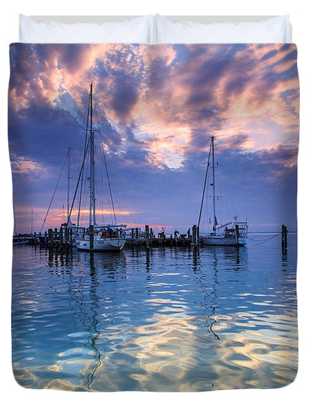 Eastport Sunrise Duvet Cover