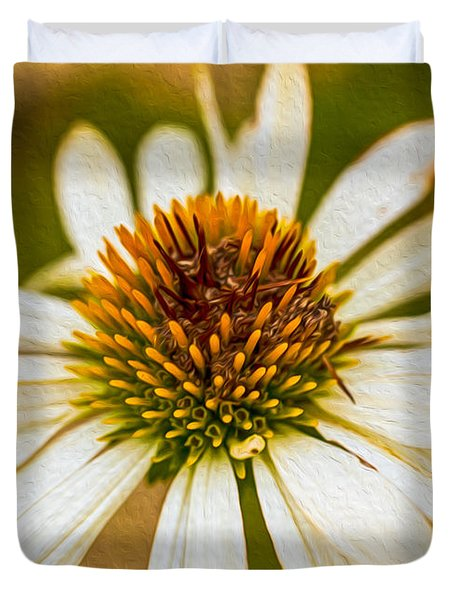 Echinacea Fading Beauty Duvet Cover by Omaste Witkowski