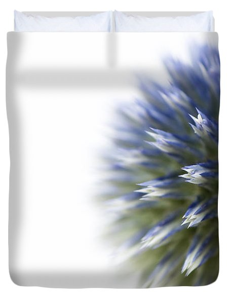 Echinops  Duvet Cover by Anne Gilbert