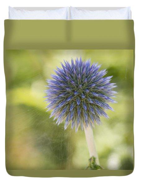 Echinops Blue Duvet Cover