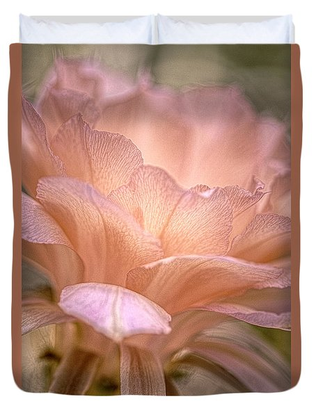 Echinopsis Los Angeles Duvet Cover