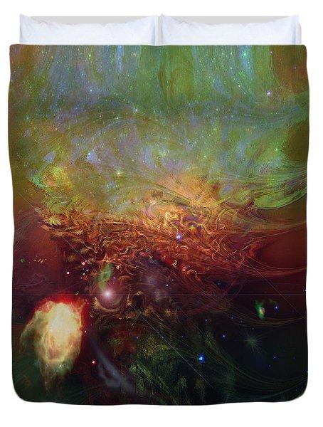 Echoes Duvet Cover by Linda Sannuti