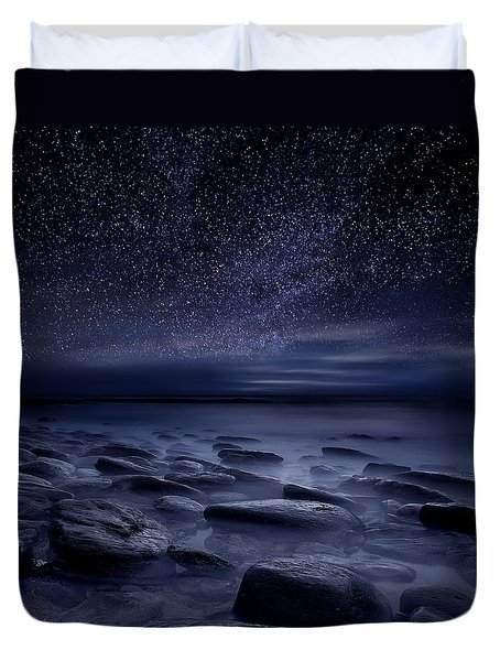 Echoes Of The Unknown Duvet Cover