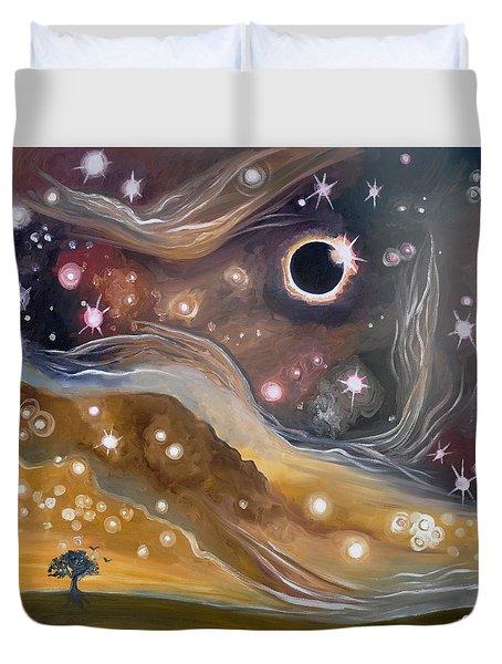 Eclipse Duvet Cover by Cedar Lee