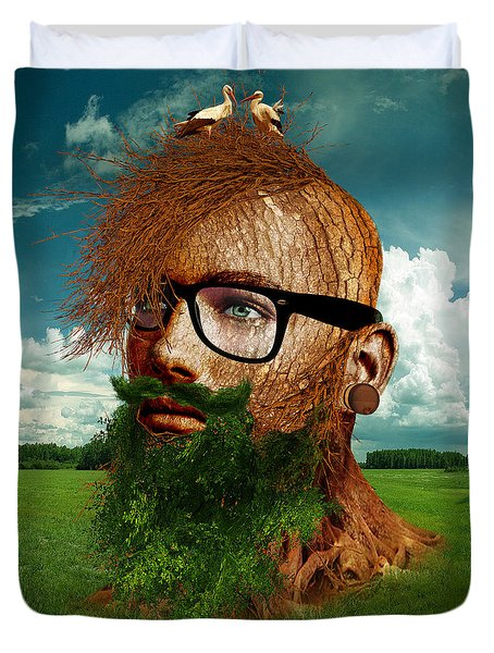Eco Hipster Duvet Cover