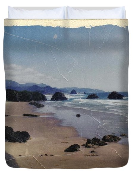 Ecola 1 Duvet Cover by Chalet Roome-Rigdon