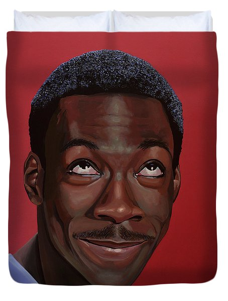 Eddie Murphy Painting Duvet Cover