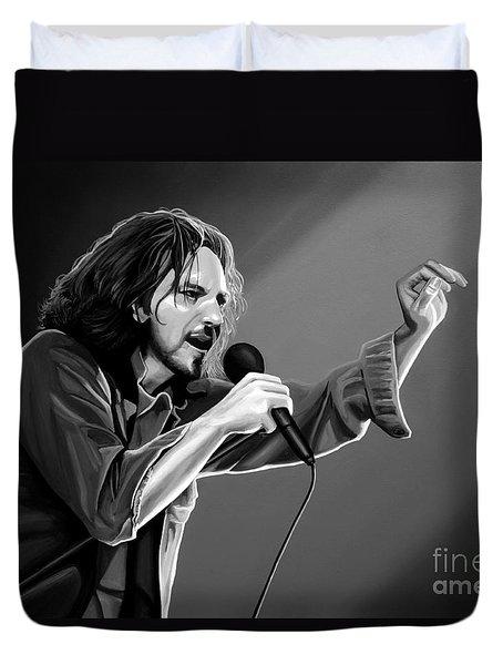Eddie Vedder  Duvet Cover