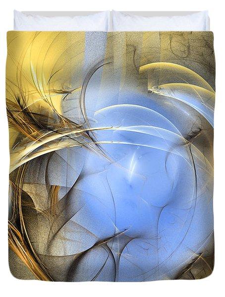 Eden - Abstract Art Duvet Cover